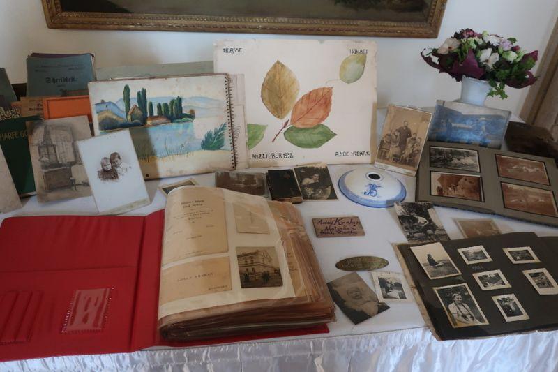Sudetendeutsche Familiendokumente (Foto: Martina Schneibergová)