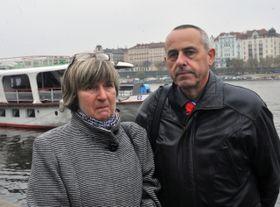 Hana Buchtová y Miloslav Buchta, foto: ČTK