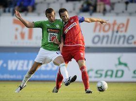 El Jablonec contra el Brno, foto: ČTK