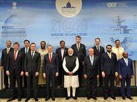 Tomáš Petříček na jednáních v Indii, foto: Twitter Úřadu premiéra Indie