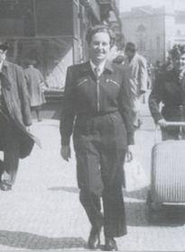 Ivy in Prague in 1950
