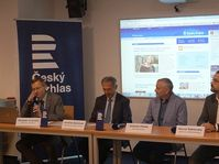 Radio Prague a organisé une conférence spéciale, avec pour objectif de commémorer les circonstances de sa naissance, photo: Miloš Turek