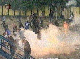 Fans' riot, photo: CTK