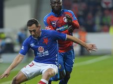 Viktoria Plzeň - Slavia Prague (Jan Bořil and Joel Kayamba), photo: ČTK / Michaela Říhová