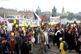 «Неделя тревоги» в Праге (Фото: ЧТК)