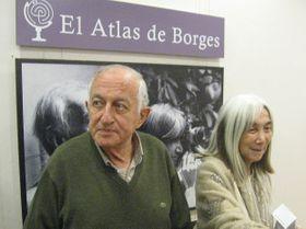 Juan Goytisolo y María Kodama