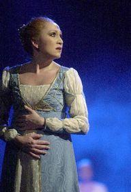 'Role Lucrezie je pro mě úžasná výzva,' řekla Bára Basiková osvé nové roli vNárodním divadle, foto: ČTK
