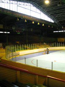 """Eisstadion """"Štvanice"""" heute"""