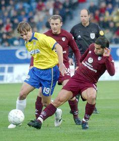 FC Teplice derrotó en la primera vuelta de la Copa de la UEFA al conjunto de Kaiserslautern de Alemania por 1 a 0, foto: CTK