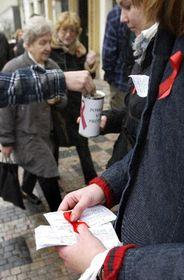 El Día Internacional de la Lucha contra el SIDA, Praga, foto: CTK