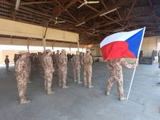 Czech soldiers in Iraq, photo: Jakub Novák / Czech Army