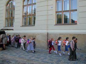 Школа в пражском районе Карлин (Фото: Анна Полакова)