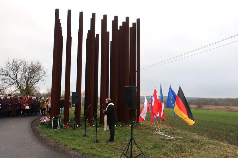 Denkmal an die Toten an der tschechoslowakisch-österreichischen Grenze (Foto: Martina Schneibergová)