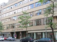 Edificio principal de la Radiodifusión Checa en Praga en la avenida Vinohradská. Foto: Lenka Žižková