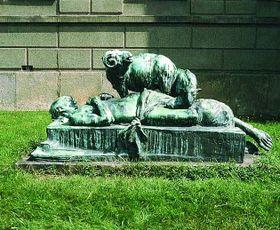 'La Muerte de Abel' de Quido Kocian, foto: páginas oficiales de la ciudad de Hořice