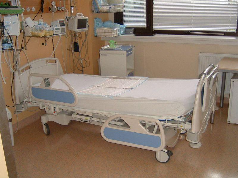 Cama de hospitalización de Linet, foto: Archivo de Linet
