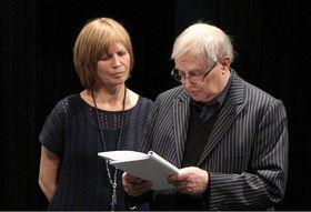 Jitka Molavcová and Jiří Suchý, photo: Dušan Dostál/Semafor