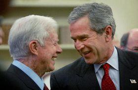 Джимми Картер и Джордж Буш, фото ЧТК