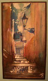 'L'escaliers vers la rue Úvoz', photo: victoire, rajče.net