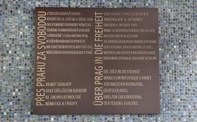 Gedenktafel auf dem Bahnhof Prag-Libeň erinnert an Ausreise der DDR-Bürger vor 30 Jahren (Foto: ČTK / Michaela Říhová)