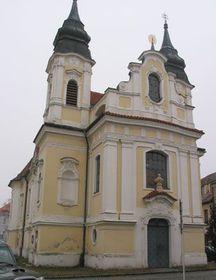 The church in Rožmitál
