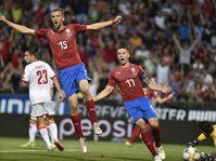 République tchèque - Monténégro, photo: ČTK/AP/Jaroslav Ožana