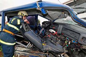 Lugar del accidente de Ladislav Lubina (Foto: CTK)