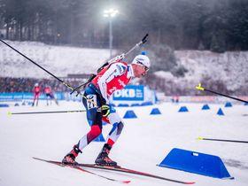 Michal Krčmář (Foto: Archiv der Tschechischen Biathlon-Union)