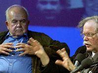Antonin J. Liehm et Ed Sanders, photo: CTK