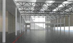 Visualisierung des nationalen Trainingszentrums (Quelle: Archiv des Sportparks Olymp des tschechischen Innenministerums)