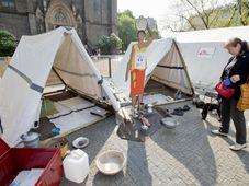 Les Médecins Sans Frontières sur la place Náměstí Míru à Prague, photo: ČTK