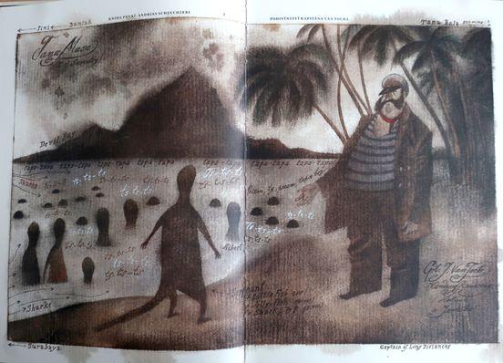 "Foto aus dem Buch ""Válka s mloky"" von Karel Čapek / Verlag Československý spisovatel"