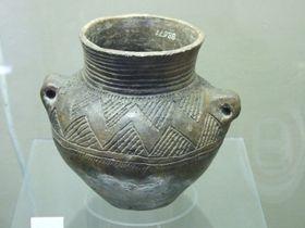 Un pot de la culture de la céramique cordée, photo: Kozuch/Musée national de Prague, CC BY-SA 3.0