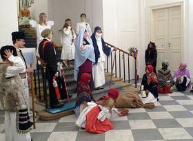 Adventní jesličkové představení vMusaionu, foto: autorka