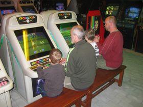 Museum mit Arcade-Spielautomaten (Foto: Jarda Petřík, Archiv des Tschechischen Rundfunks)