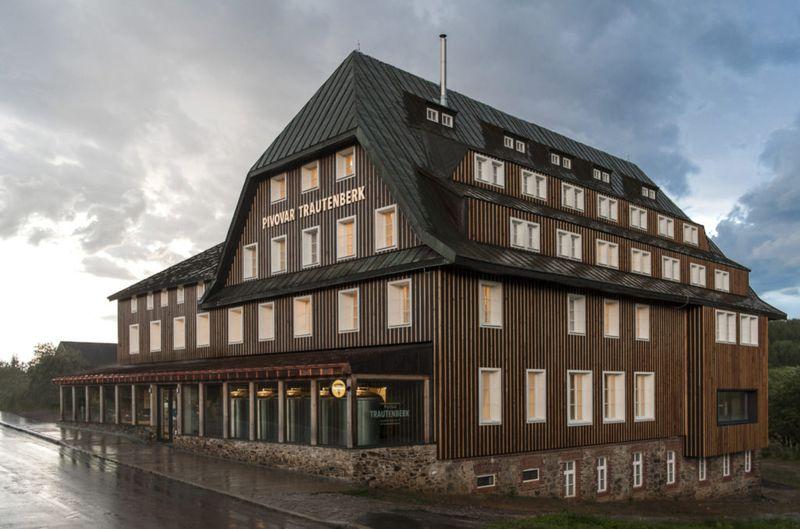 La microbrasserie de Trautenberk, photo: Pivovar Trautenberk