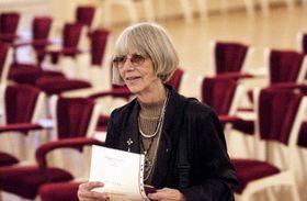 Ярослава Мозерова - первая в истории Чехии женщина, которая решила вести борьбу за кресло президента (Фото: ЧТК)