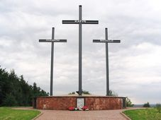 Katyn-Kharkiv-Mednoje memorial, photo: Goku122, CC BY-SA 3.0
