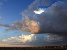 Es wird gleich regnen - bude pršet (Foto: Barbora Němcová)