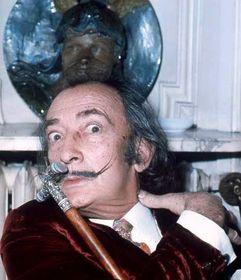 Salvador Dalí (1972), foto: Allan Warren / CC BY-SA 3.0