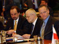 Le Premier ministre Vladimir Spidla et ministre des Affaires étrangères Cyril Svoboda, photo: CTK