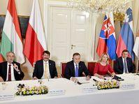 Reunión del Grupo de Visegrád, foto: ČTK/Šimánek Vít