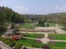 Un parque cerca del río de Ohře, foto: Archivo de ČRo - Radio Praga