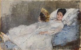 Berthe Morisot, 1874 (Foto: Nationalgalerie Prag / Ordrupgaard-Museum)