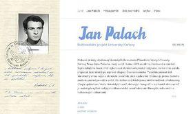 Le site sur Jan Palach (janpalach.cz)