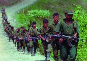 Combatientes en las FARC, foto: Public Domain