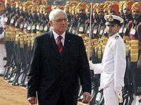 Presidente checo, Václav Klaus en Nueva Delhi (Foto: CTK)