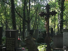 Ольшанское кладбище (Фото: Штепанка Будкова, Чешское радио - Радио Прага)