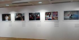 De la exposición 'Somos del Mismo Planeta', foto: Dominika Bernáthová