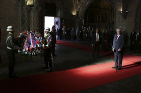 Президент Милош Земан, Фото: ЧТК